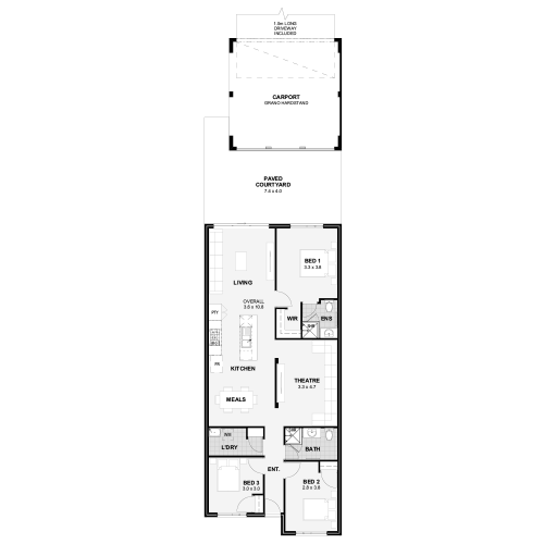 Floorplan for The Aptitude