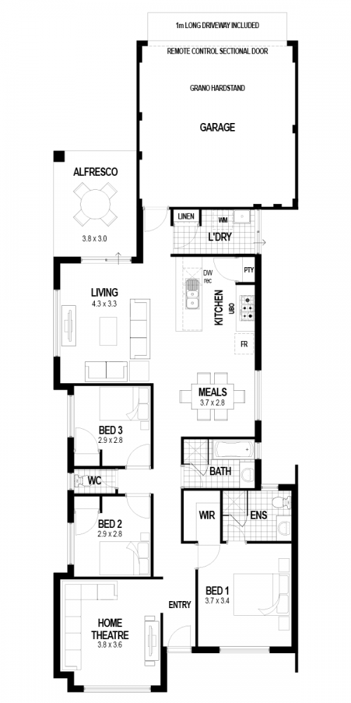 Floorplan for The Integrity