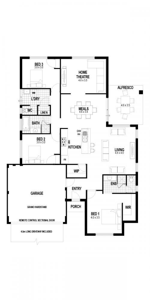 Floorplan for The Nirvana