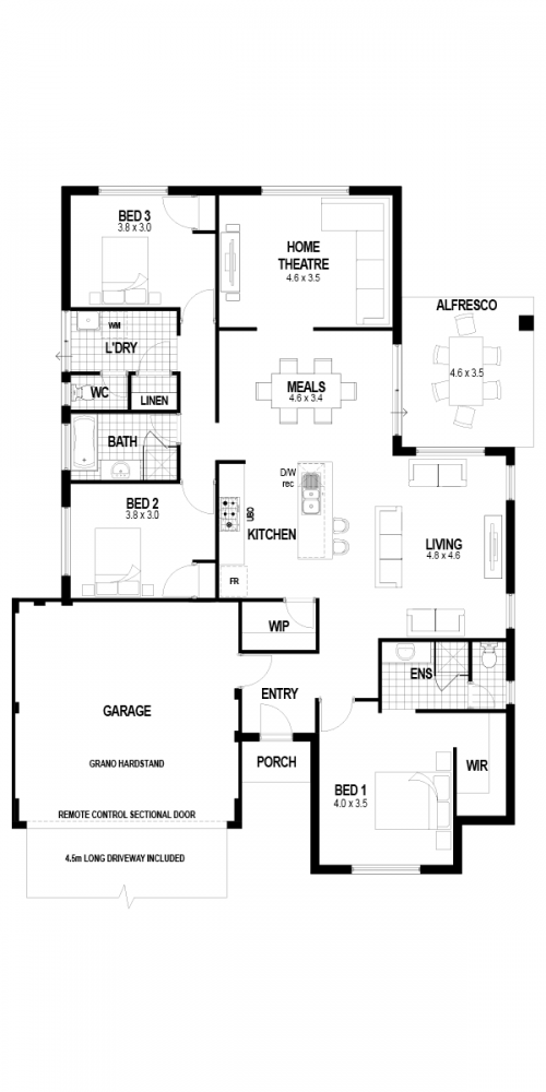 Floorplan for The Nirvana