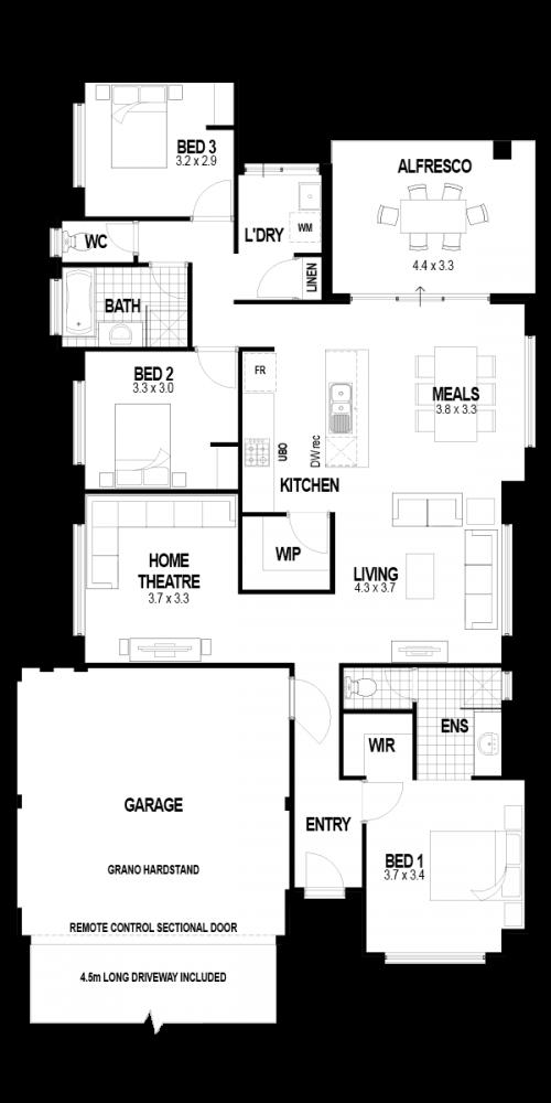 Floorplan for The Revelation
