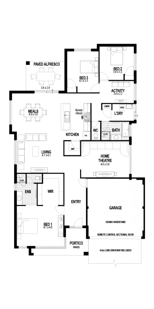 Floorplan for The Stamford