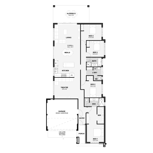 Floorplan for The Madison